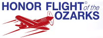 Honor Flight of the Ozarks Logo